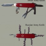 Russian vs Swiss Army Knife