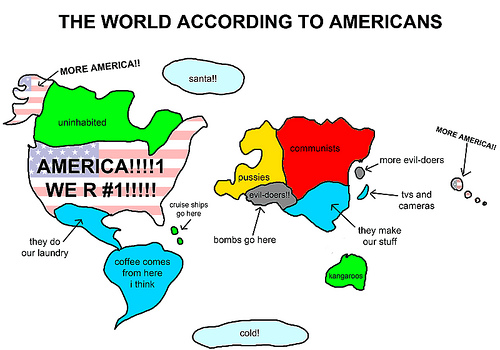 The world viewed by Americans
