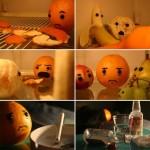 Sad orange