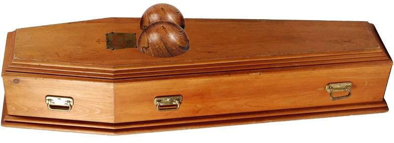 Pamela Anderson coffin
