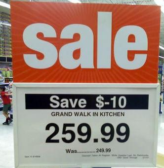 Sale! Save $-10!