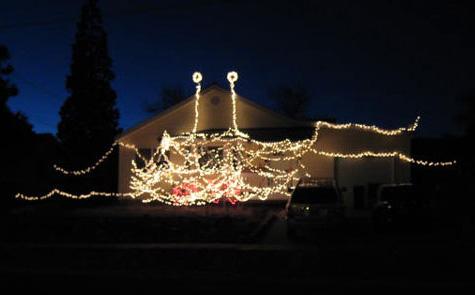 Creepy christmas lights