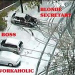 How to spot a blonde secretary