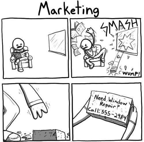 Marketing window