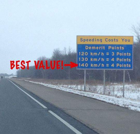 best value speeding