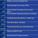 Realistic channel guide