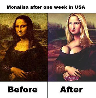 Mona Lisa in the USA