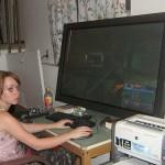 True geek plasma monitor
