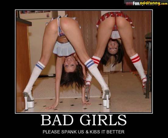 Bad girls motivational poster