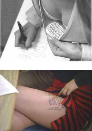 Exam cheating in Russia