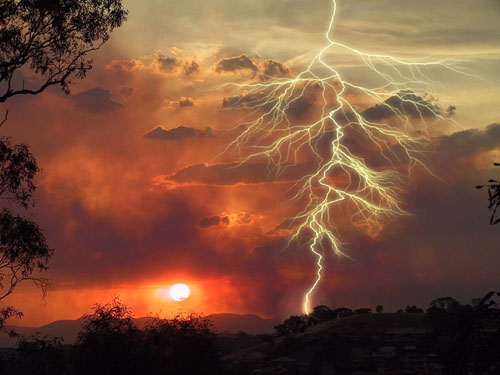 Awesome lightning
