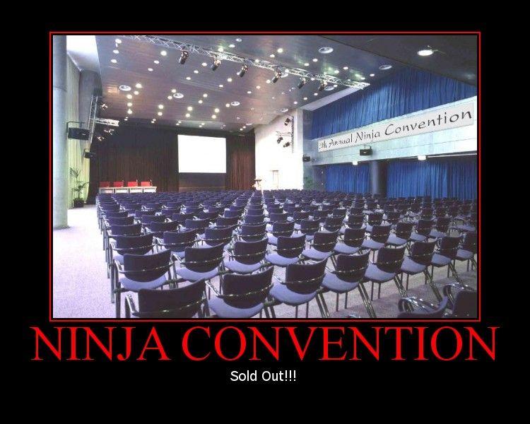 Ninja convention