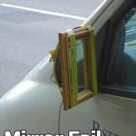 Mirror fail