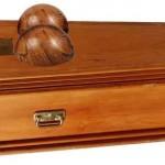 Pamela Anderson's coffin