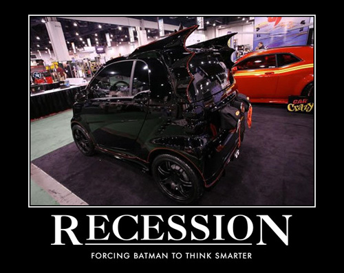 recession batmobile