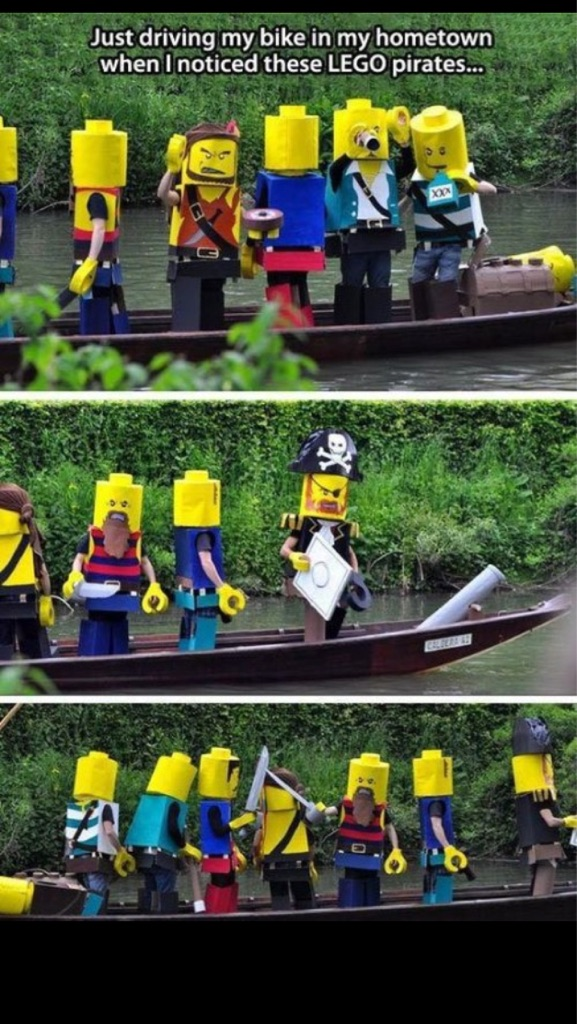 DIY Lego pirates