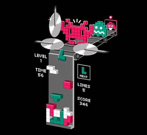 What really happens in Tetris