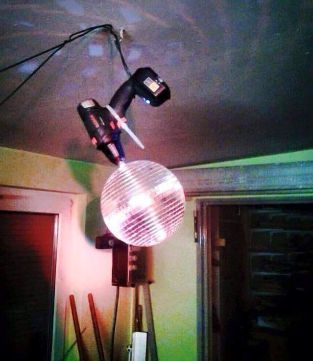 Homemade disco