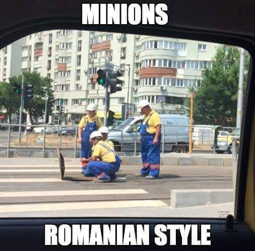 Minions romanian version