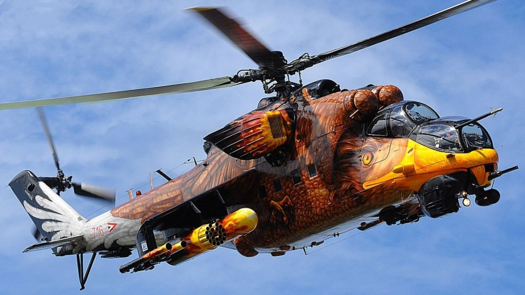 Freedom helicopter