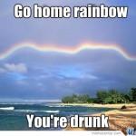 Drunk rainbow