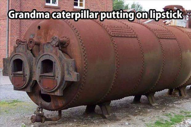 Grandma Caterpillar