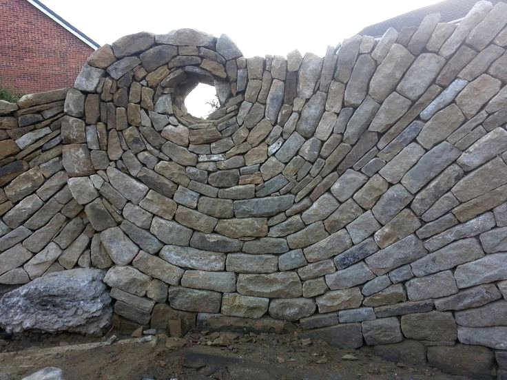 spiral-stone-wall