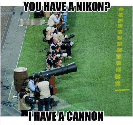 Nikon cannon